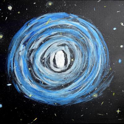 Message cosmique, par Em'Art