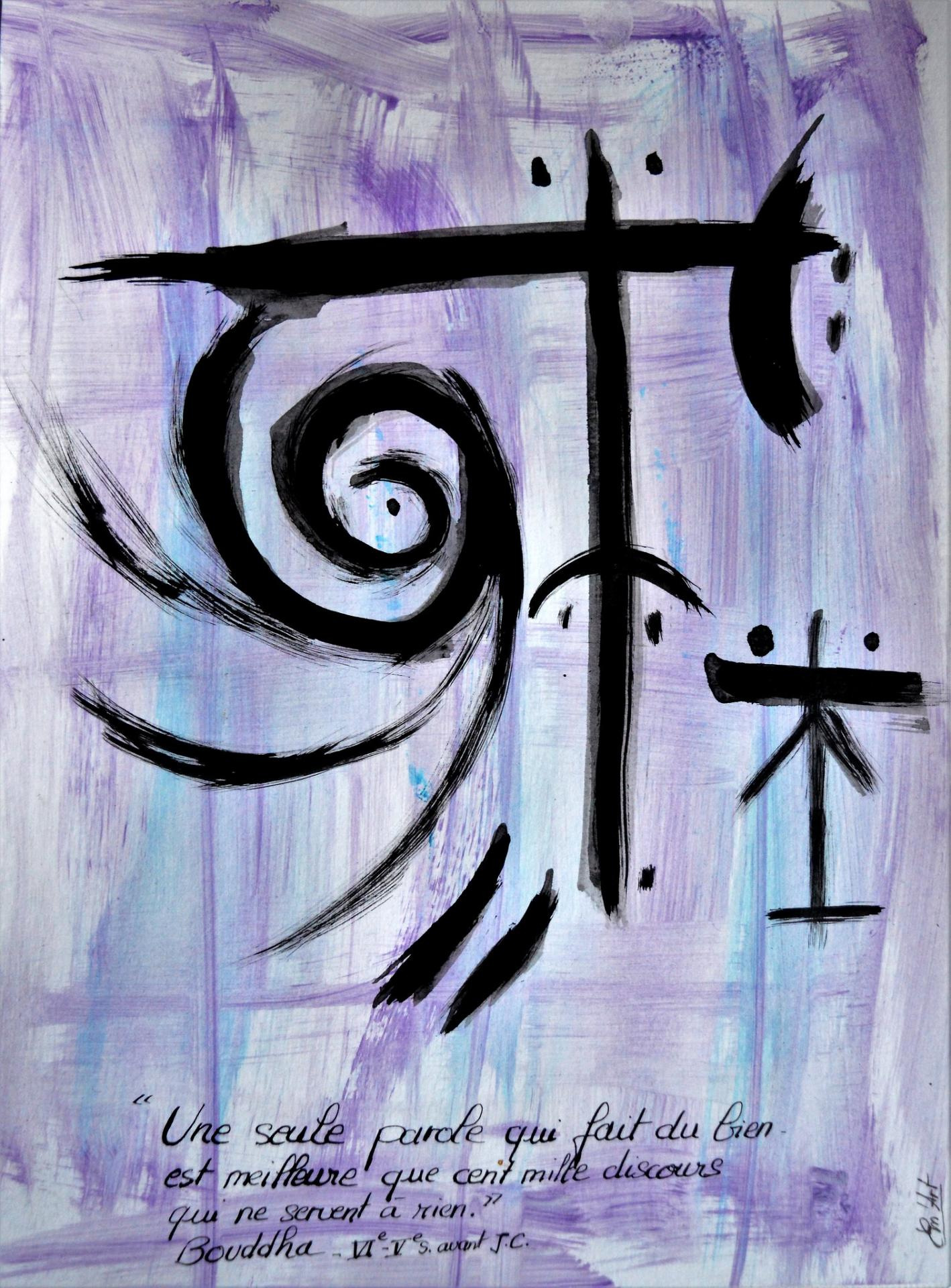 Parole de Bouddha, par Em'Art