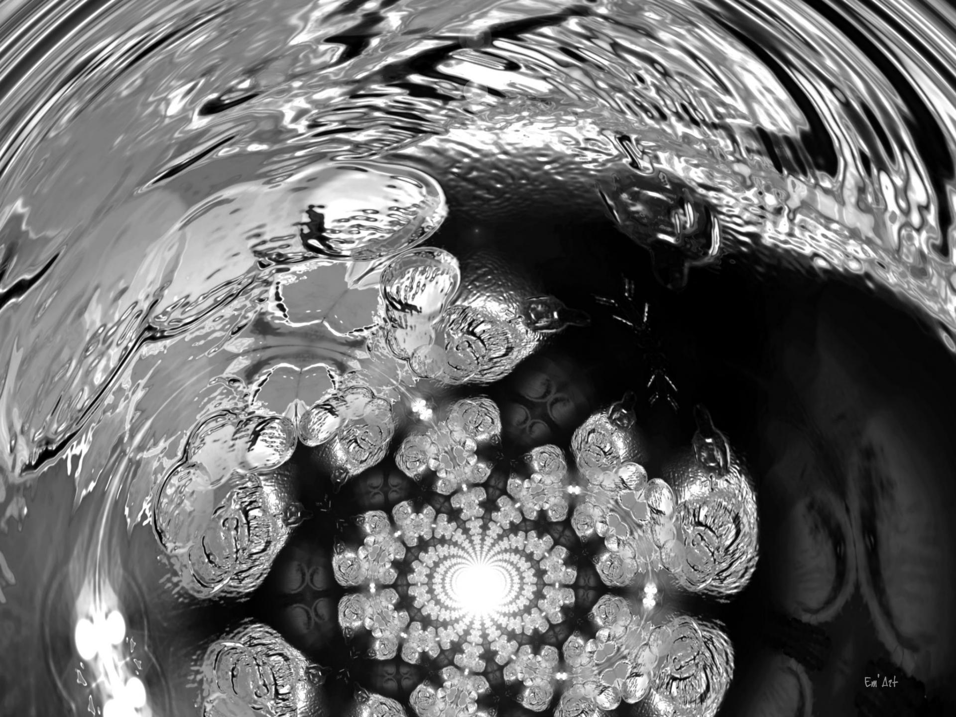 Argenterie celeste, photographie d'art par Em'Art