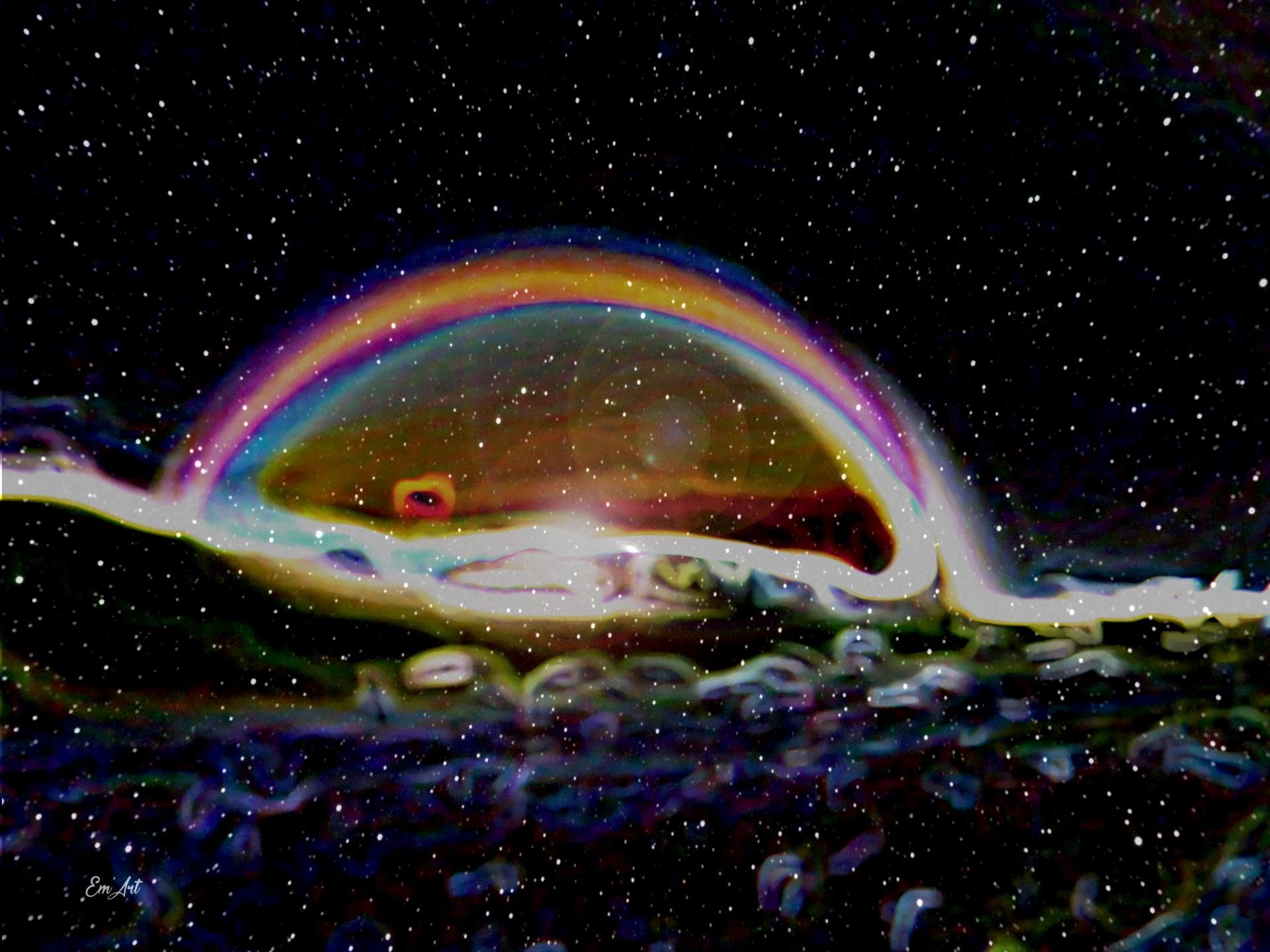 Cosmic Rainbow I