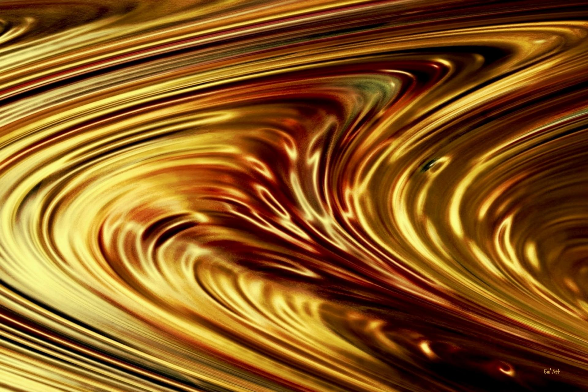 Golden flow II