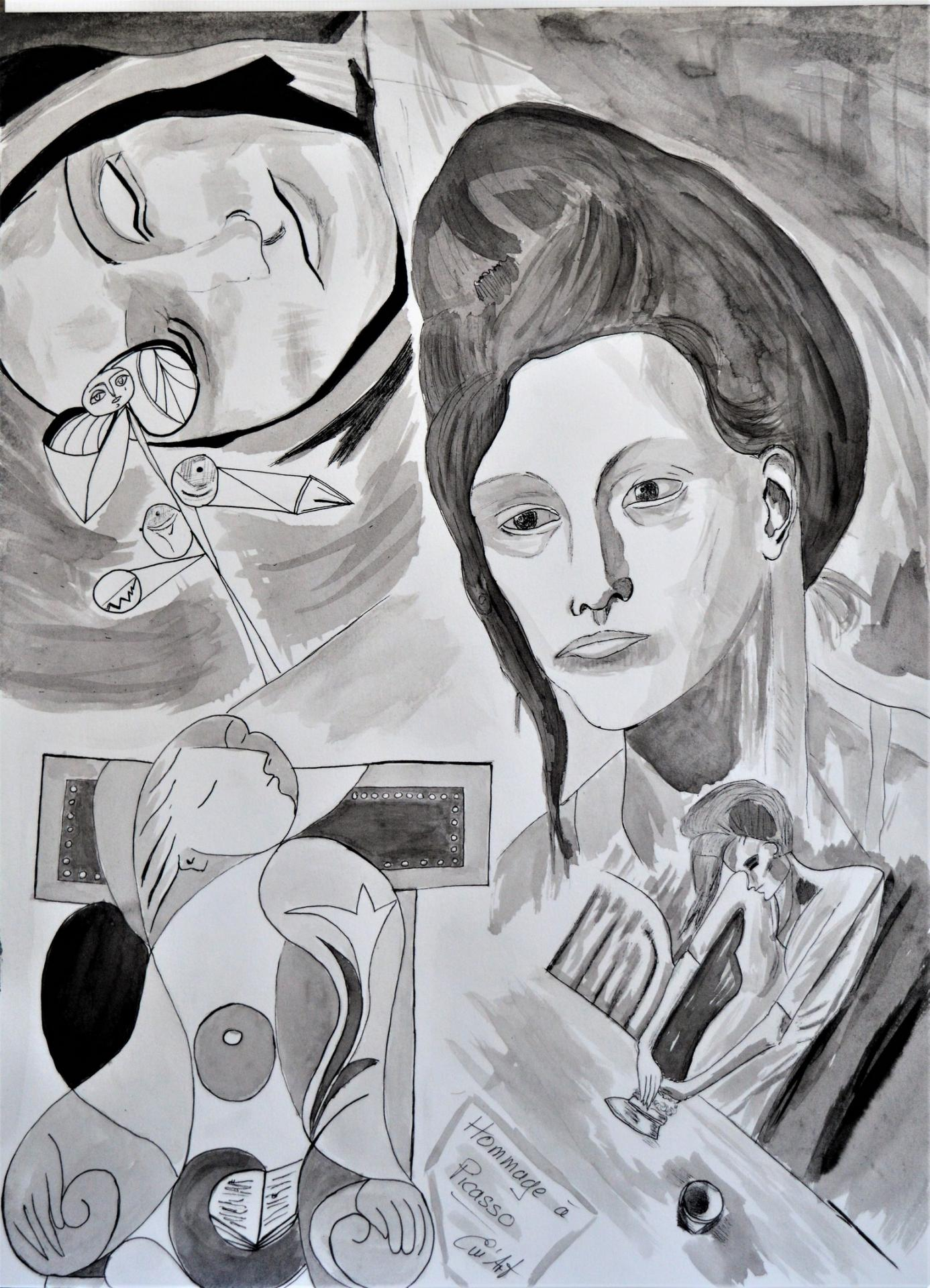 Tribute to Picasso III