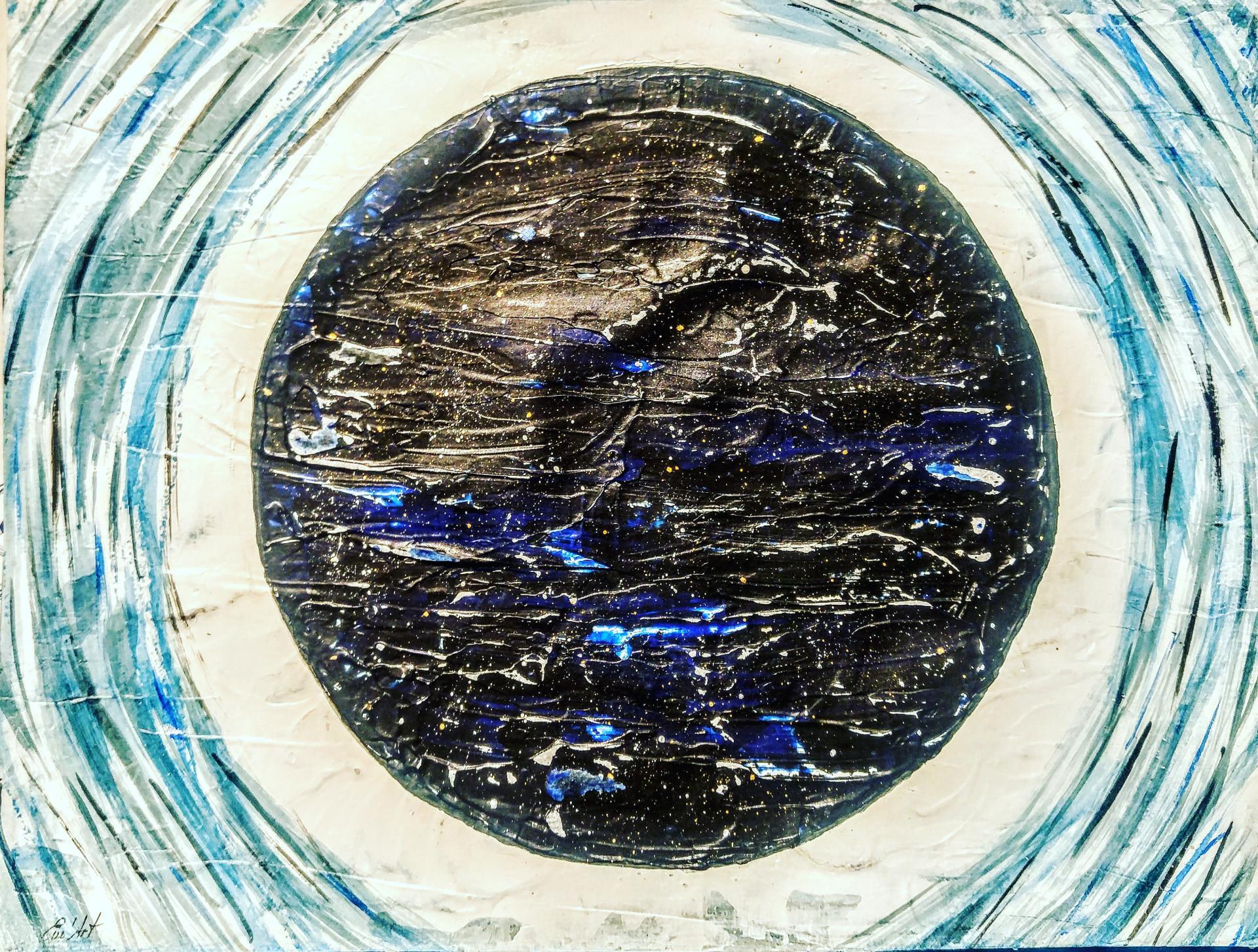 Pour l'éternité, Acrylique abstraite par Em'Art