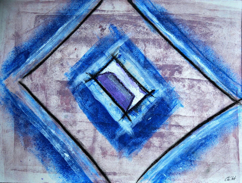La porte du temps, Acrylique abstraite par Em'Art