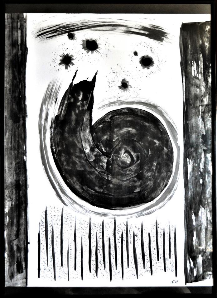 Rêve - Acrylique abstraite au couteau par Em'Art
