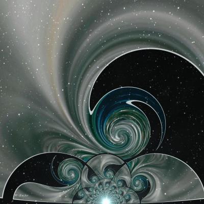 Aux portes de l univers 30x30 cm 8mo