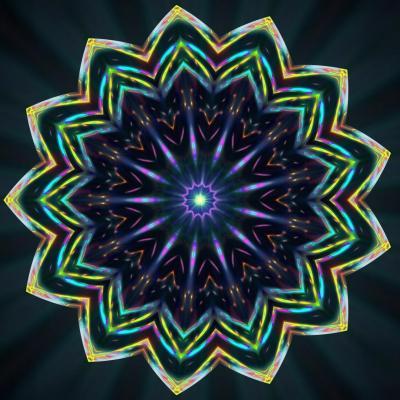 Fleur cosmique 30 x 45 8mo